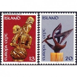 10x Islandija 1974. Europa...
