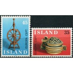 10x Iceland 1976. Europa...