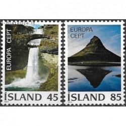 10x Islandija 1977. Europa...