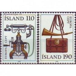 10x Islandija 1979. Europa...