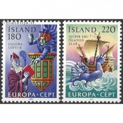 10x Islandija 1981. Europa...