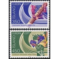 10x Iceland 1982. Europa...