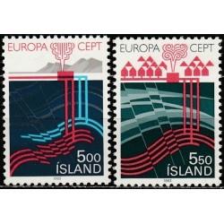 5x Islandija 1983. Europa...