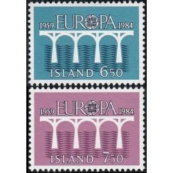10x Iceland 1984. Europa...