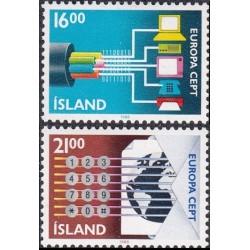 5x Islandija 1988. Europa...