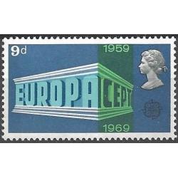 Great Britain 1969. EUROPA...