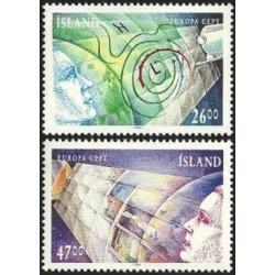 5x Islandija 1991. Europa...