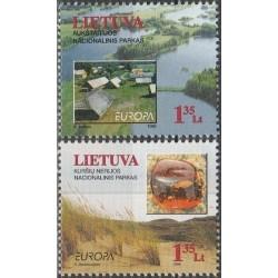 10x Lithuania 1999. Europa...