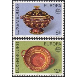 10x Luxembourg 1976. Europa...