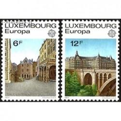 10x Luxembourg 1977. Europa...