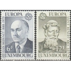10x Luxembourg 1980. Europa...