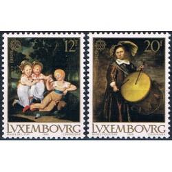 10x Luxembourg 1989. Europa...