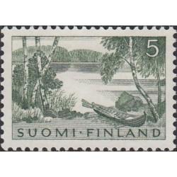 Finland 1961. Landscape