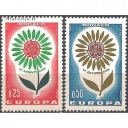 10x Monaco 1964. Europa...