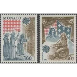 10x Monakas 1982. Europa...