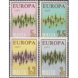 10x Malta 1972. Europa CEPT...