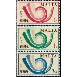 10x Malta 1973. Europa CEPT...