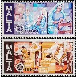 10x Malta 1976. Europa CEPT...