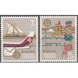 10x Malta 1979. Europa CEPT...