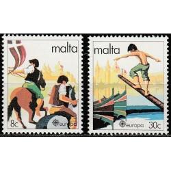 10x Malta 1981. Europa CEPT...