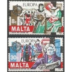 10x Malta 1982. Europa CEPT...