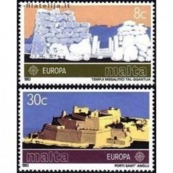10x Malta 1983. Europa CEPT...