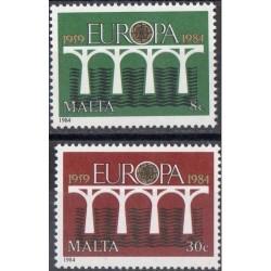 10x Malta 1984. Europa CEPT...