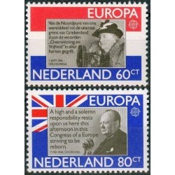 5x Netherlands 1980. Europa...