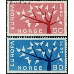 10x Norway 1962. Europa...