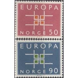 10x Norvegija 1963. Europa...