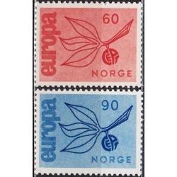 10x Norway 1965. Europa...