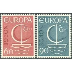10x Norvegija 1966. Europa...