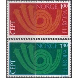 10x Norway 1973. Europa...