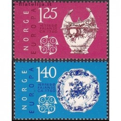 5x Norway 1976. Europa CEPT...