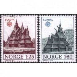 10x Norvegija 1978. Europa...