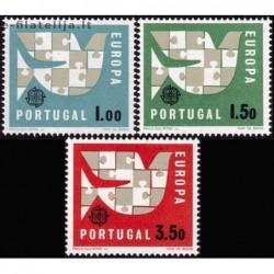10x Portugalija 1963....