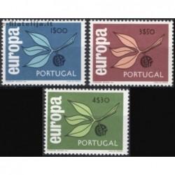 5x Portugal 1965. Europa...