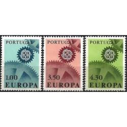 5x Portugal 1967. Europa...