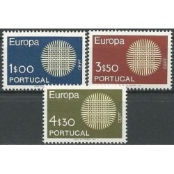 5x Portugal 1970. Europa...