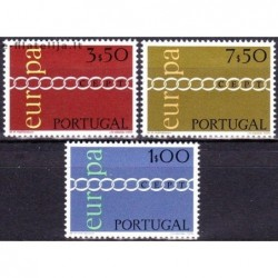 5x Portugal 1971. Europa...
