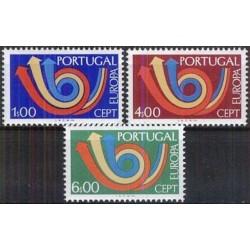 5x Portugal 1973. Europa...