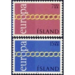 Islandija 1971. CEPT:...
