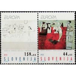 5x Slovenia 1993. Europa...