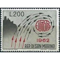 10x San Marino 1962. Europa...