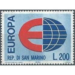 10x San Marino 1964. Europa...