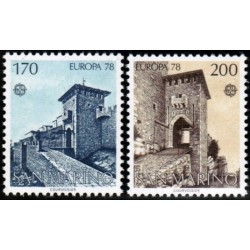 10x San Marino 1978. Europa...