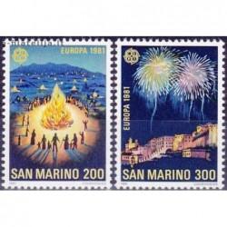 10x San Marinas 1981....