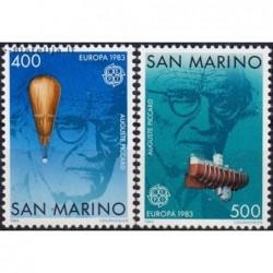 10x San Marino 1983. Europa...