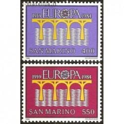 10x San Marino 1984. Europa...