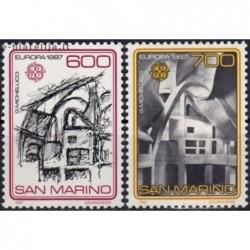 5x San Marinas 1987. Europa...